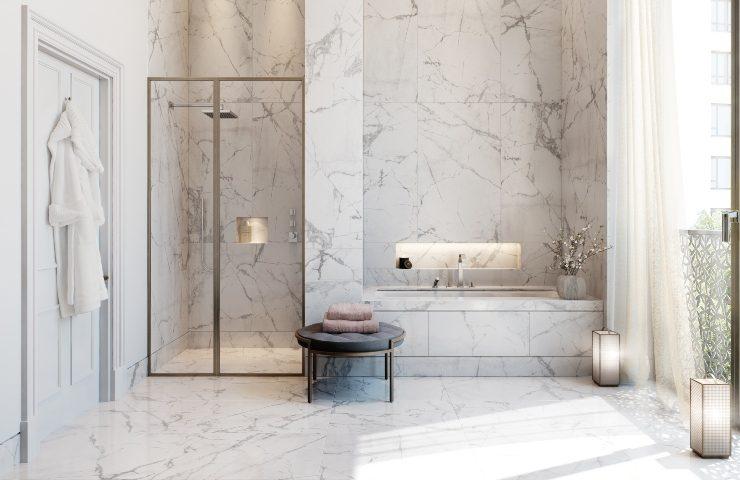 inspiring bathroom projects Inspiring Bathroom Projects from London Interior Designers Regent   s Crescent 1 740x480