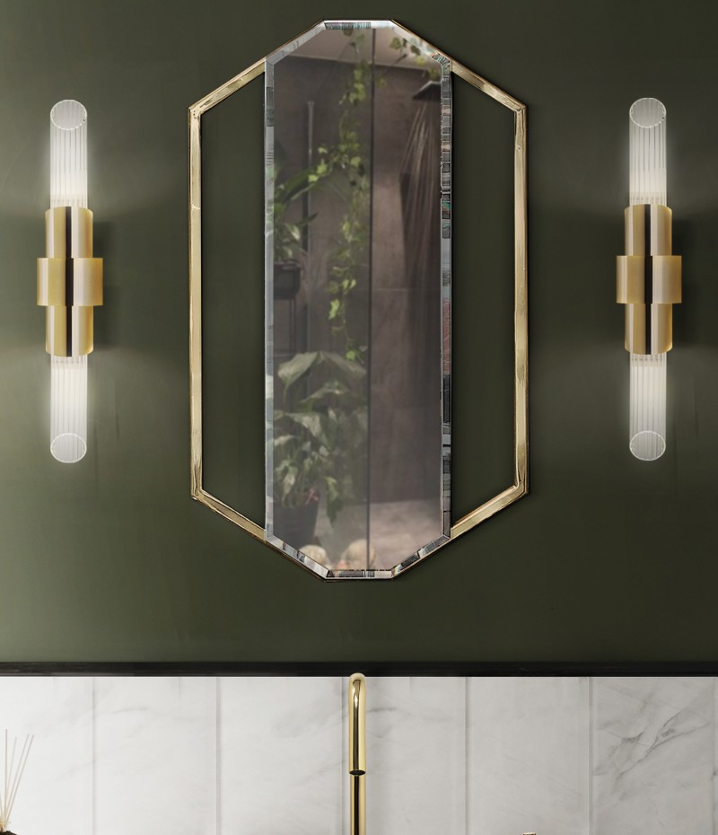 austin Austin Interior Designers – Showcasing Bathrooms guest bathroom detail with sapphire mirror and petra washbasin 1