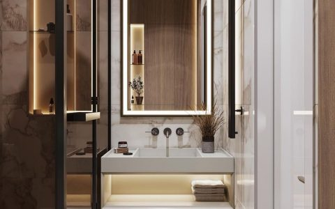 small bathroom Small Bathroom Designs: How to turn them into Luxurious and Spacious Oasis 164893576 896625974435795 459445584494523750 n 1 480x300