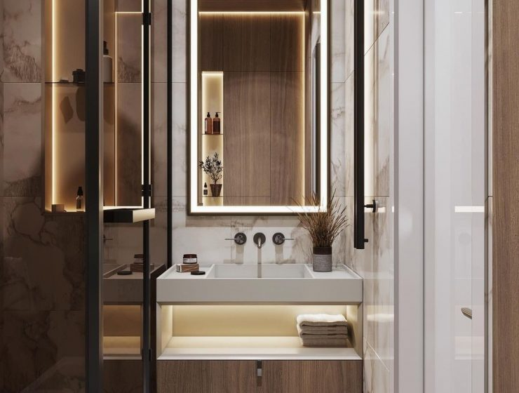 small bathroom Small Bathroom Designs: How to turn them into Luxurious and Spacious Oasis 164893576 896625974435795 459445584494523750 n 1 740x560
