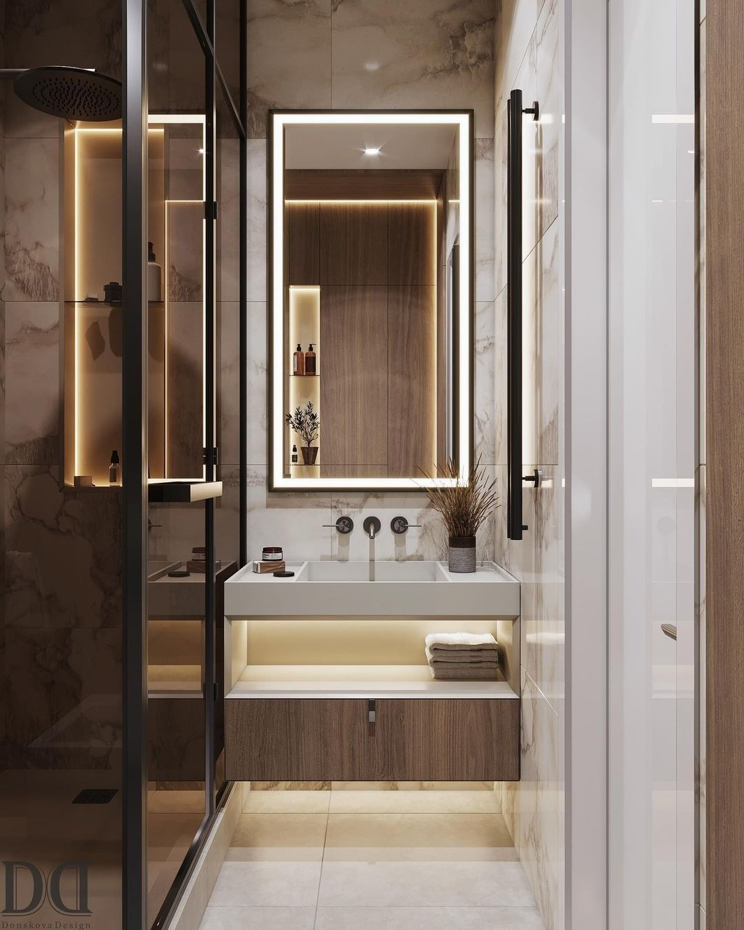 Beautiful Small Bathroom  small bathroom Small Bathroom Designs: How to turn them into Luxurious and Spacious Oasis 164893576 896625974435795 459445584494523750 n 1