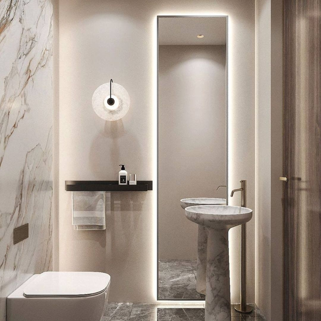 Minimal Small Bathroom small bathroom Small Bathroom Designs: How to turn them into Luxurious and Spacious Oasis 173605687 393656458742087 3051788217717841757 n