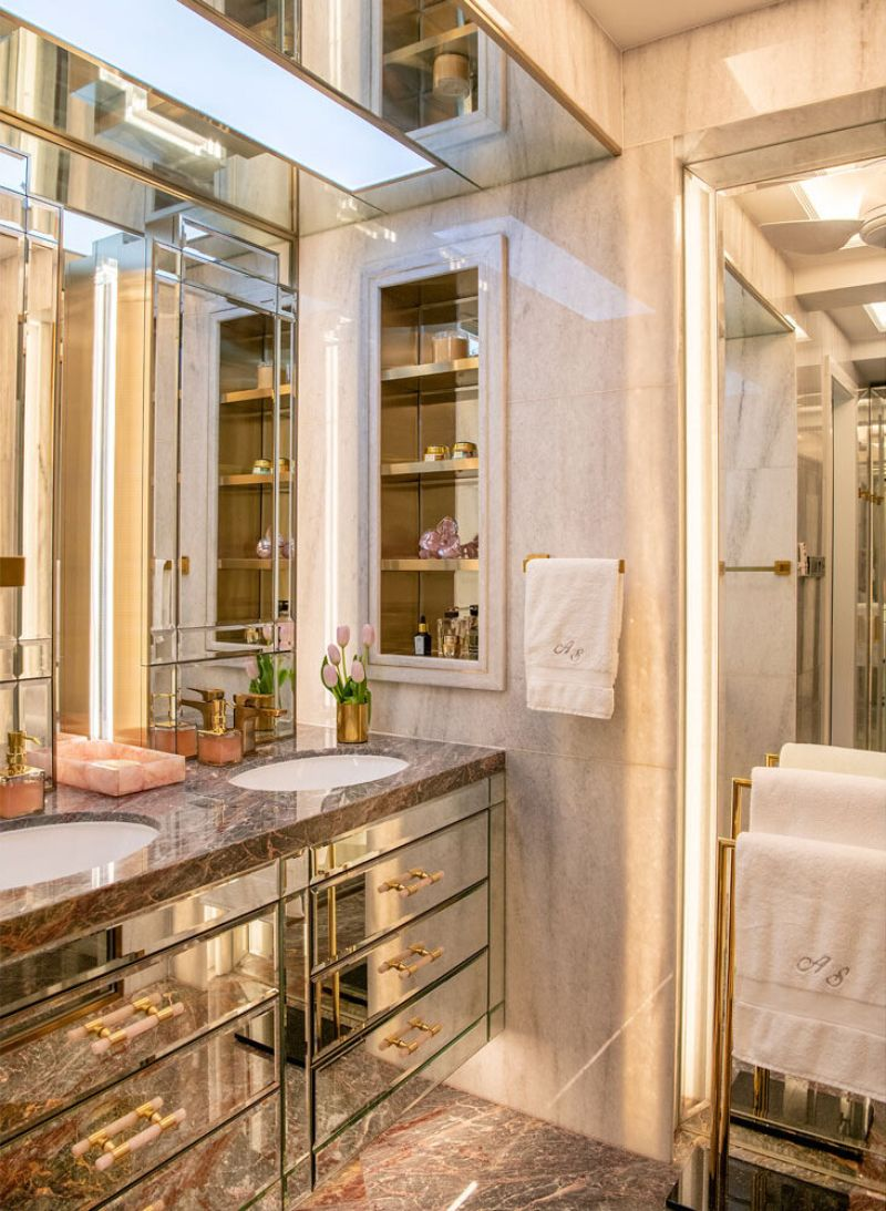 Luxury Bathroom Ideas From Design Intervention Projects  luxury Luxury Bathroom Ideas From Design Intervention Projects An Apartment Renovation for a Modern Family 12 1
