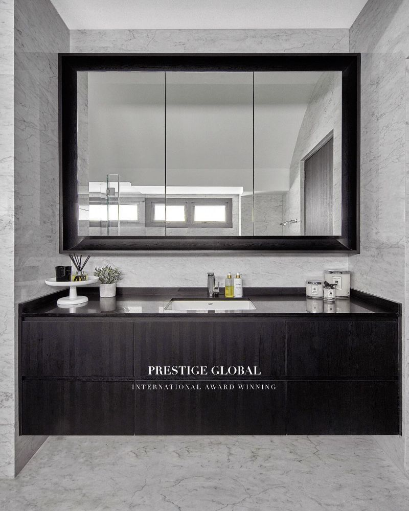 Bathroom Inspiration by Prestige Global Designs To Make You Fall In Love bathroom inspiration Bathroom Inspiration by Prestige Global Designs To Make You Fall In Love Black and White Bathroom