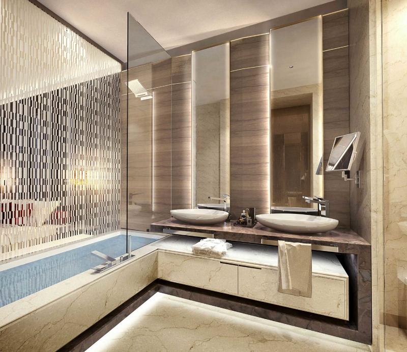 Luxury Interior Design Studio: Spagnulo and Partners spagnulo and partners Luxury Interior Design Studio: Spagnulo and Partners Hotel Five Star Dubai 1 1
