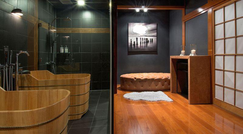 Luxury Bathroom Ideas From Design Intervention Projects  luxury Luxury Bathroom Ideas From Design Intervention Projects Japanese Ski Lodge13 1