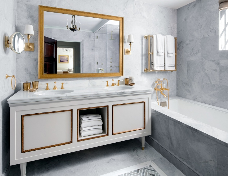 Gorgeous Luxury Bathrooms in New York Worth Taking a Look luxury bathrooms in new york Gorgeous Luxury Bathrooms in New York Worth Taking a Look NYC Interior Designers The Top 20 Bathroom Designs 15