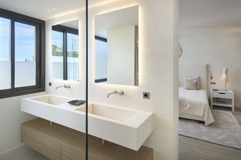 Extraordinary Master Bathroom Projects by SAS COLLECTION PRIVEE extraordinary master bathroom projects by sas collection privee Extraordinary Master Bathroom Projects by SAS COLLECTION PRIVEE Penthouse Croisette 2