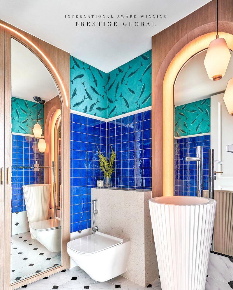 Bathroom Inspiration by Prestige Global Designs To Make You Fall In Love bathroom inspiration Bathroom Inspiration by Prestige Global Designs To Make You Fall In Love Powder Room