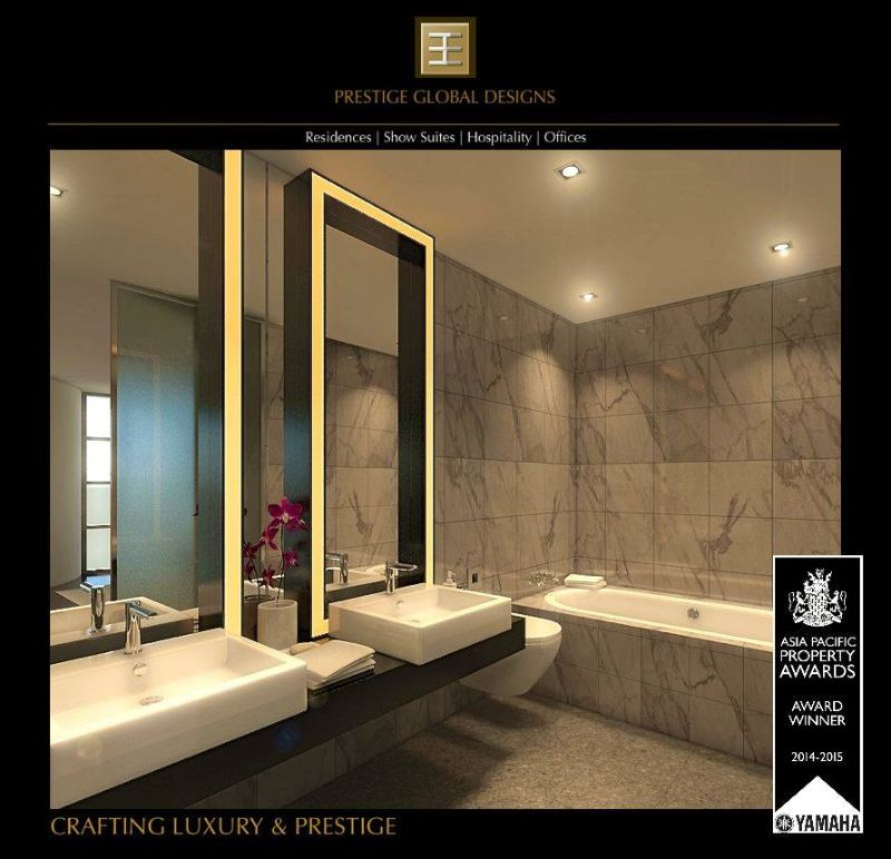 Bathroom Inspiration by Prestige Global Designs To Make You Fall In Love bathroom inspiration Bathroom Inspiration by Prestige Global Designs To Make You Fall In Love Spacious Bathroom