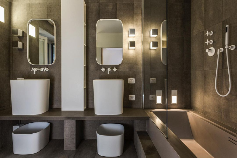 The Best Modern Bathroom Designs by Andrea Castrignano andrea castrignano The Best Modern Bathroom Designs by Andrea Castrignano The Best Modern Bathroom Designs by Andrea Castrignano 9