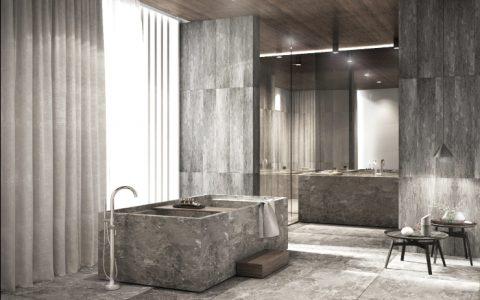 aim studio Timeless Bathroom Designs by AIM Studio Villa Almedbel 1 480x300