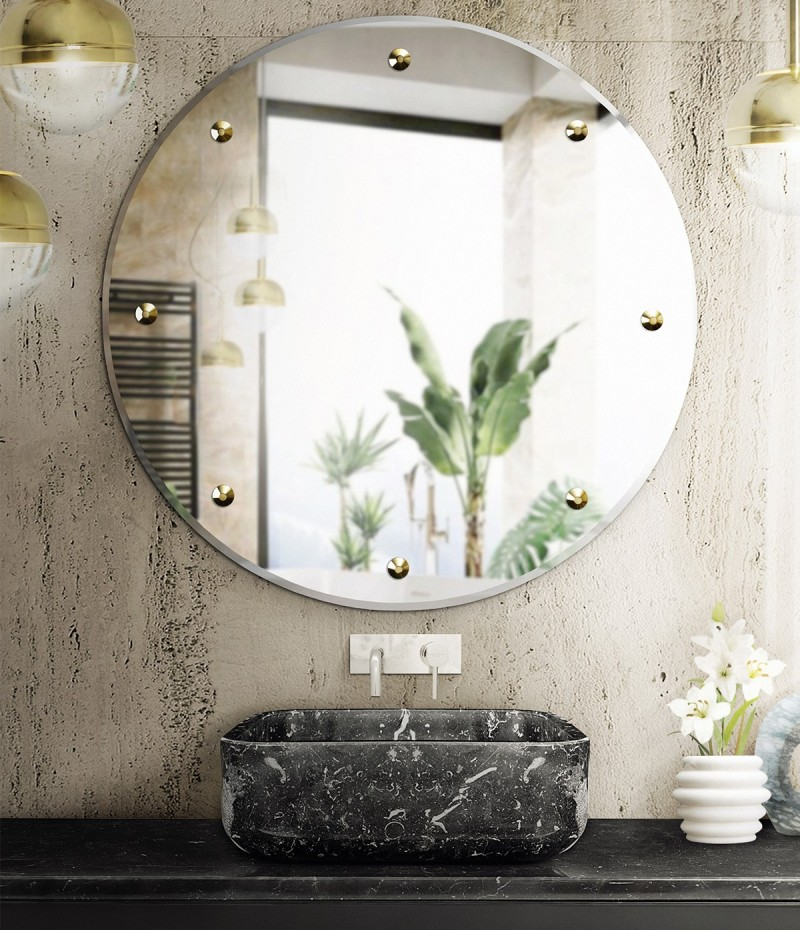 10 Marvellous Bathroom Projects you must get inspired by 10 marvellous bathroom projects you must get inspired by 10 Marvellous Bathroom Projects you must get inspired by a mix of textures on the bathroom  koi rectangular vessel sink and glimmer mirror 1