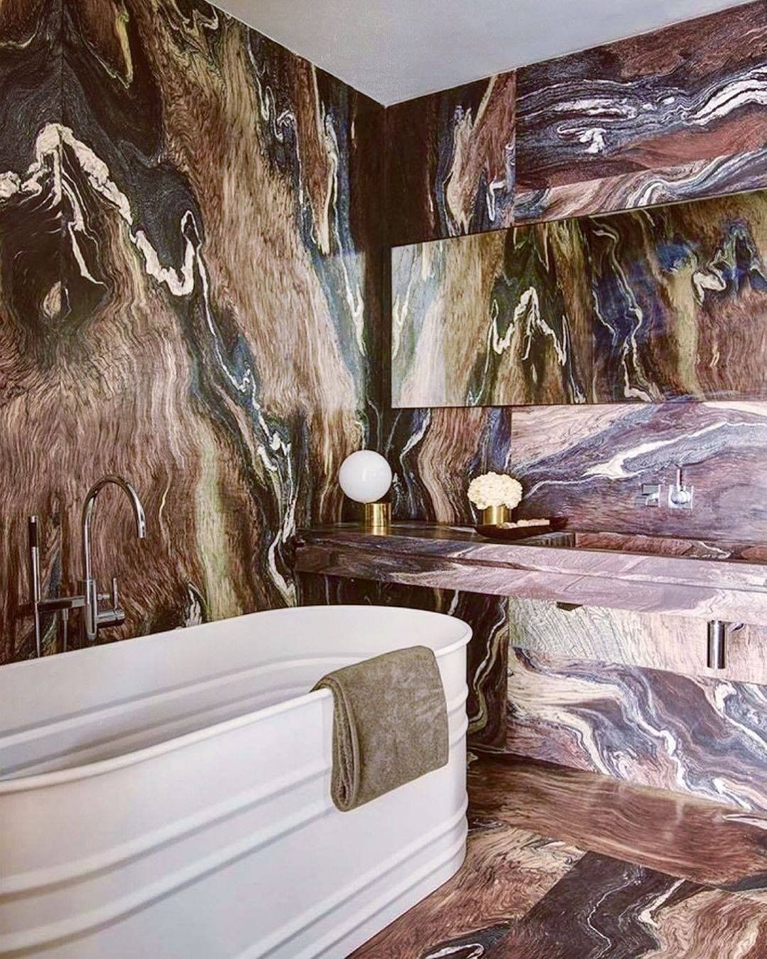 Multiple Colorful Marble Bathroom  colorful bathroom Colorful Bathrooms: Discover The Latest Bathroom Color Ideas 193209370 469521414139496 8548447922318126238 n