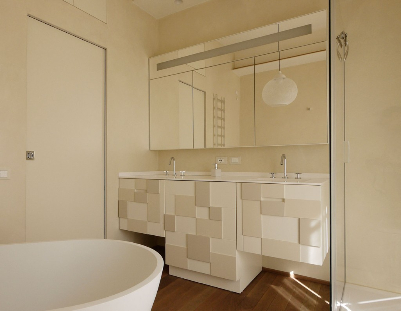8&A Modern Interior Design - Contemporary Bathrooms modern interior design 8&A Architetti Modern Interior Design – Contemporary Bathrooms 8A 1