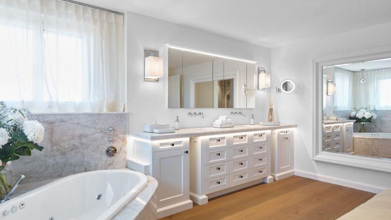 Bathroom Inspiration Projects by Widmer Wohnen widmer wohnen Widmer Wohnen: Divine Bathroom Inspirations Widmer Wohnen 2