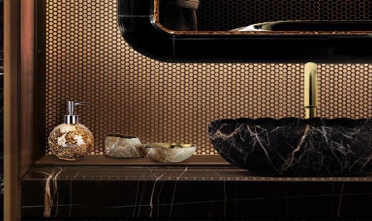 design ideas Items That Impress: Design Ideas The Best Bathroom Elements 10 bathrooms to make a statement 6 2 1 740x440