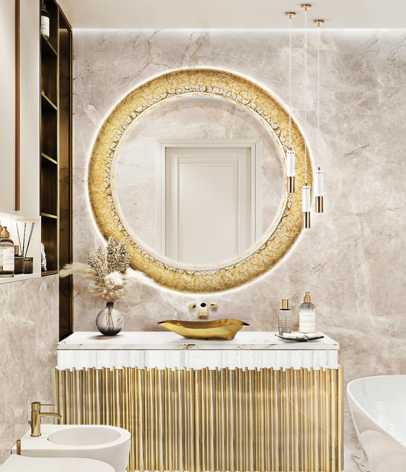 Bathroom Ideas From Maison Valentina's Room By Room