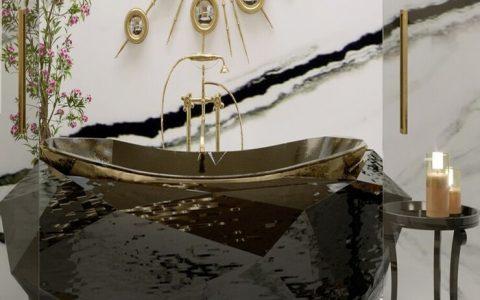 bathroom design ideas Bathroom Design Ideas To Make You Feel Like a King master bathroom with diamond bathtub and diamond freestandings 1 1 1 480x300