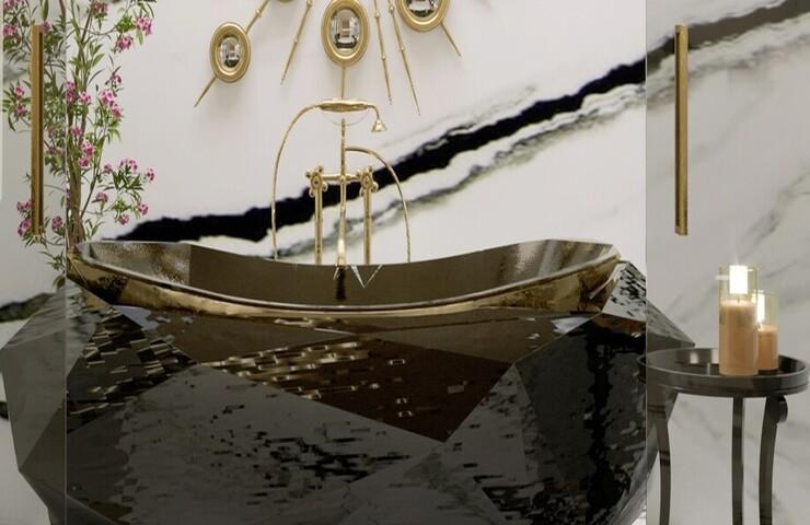 bathroom design ideas Bathroom Design Ideas To Make You Feel Like a King master bathroom with diamond bathtub and diamond freestandings 1 1 1  homepage master bathroom with diamond bathtub and diamond freestandings 1 1 1