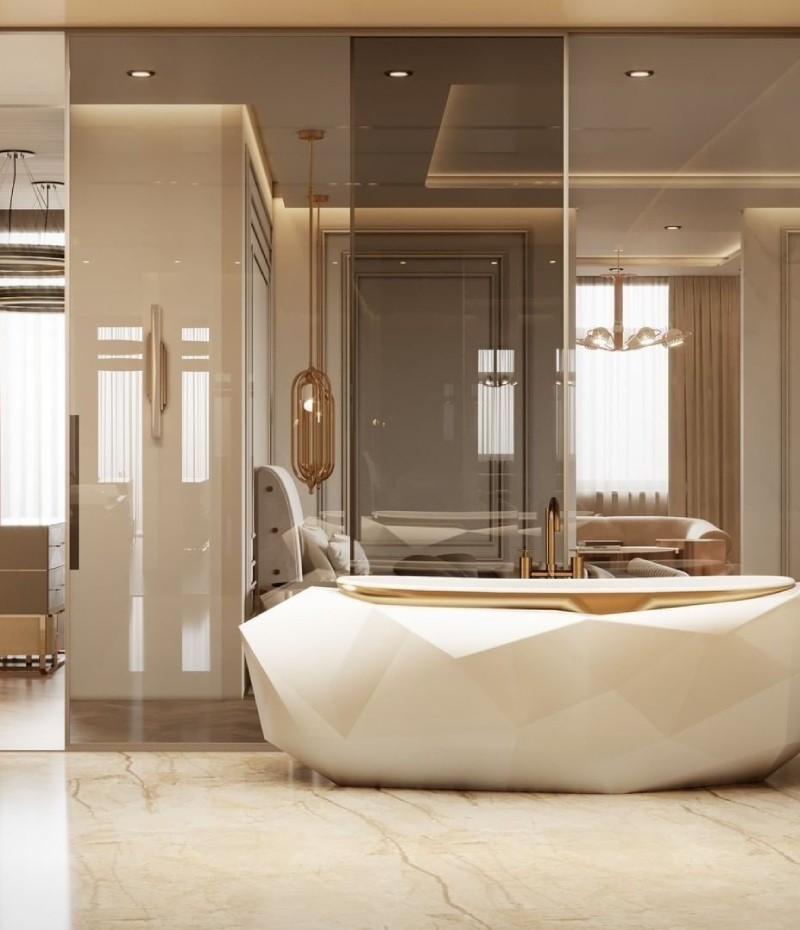 Modern Bathrooms: Maison Valentina's Ambiances That Impress