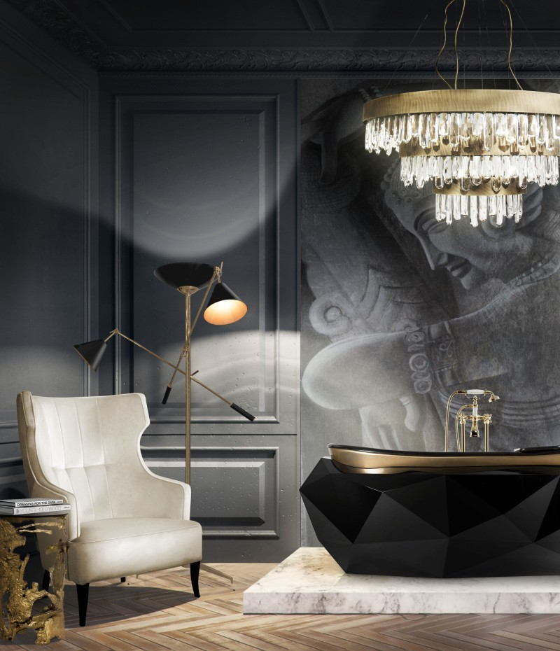 Dark Bathroom Designs That Are Breathtaking