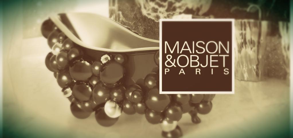 """Maison&Objet Paris with """"Salles de Bains de Luxe"""""""