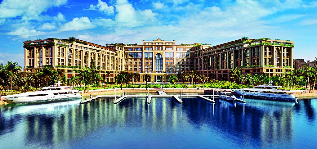 Grand Opening of the Luxury Hotel Palazzo Versace in Dubai view