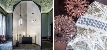 Lasvit swings into Palazzo Serbelloni for Salone del Mobile