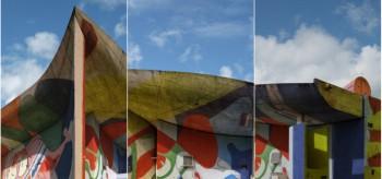 Chapelle Ronchamp: Le Corbusier by himself