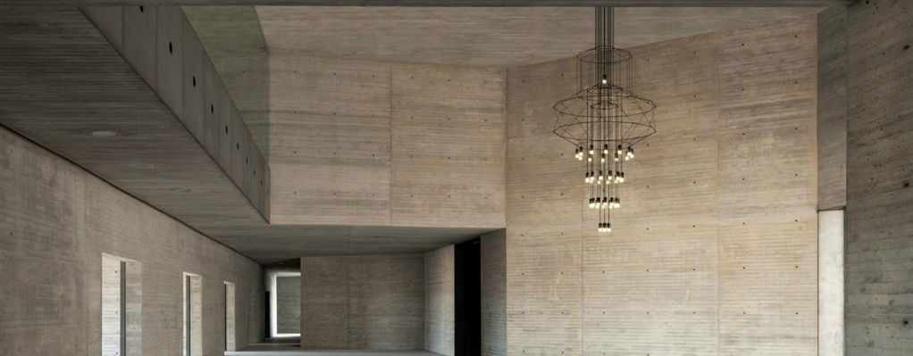 The Wireflow Modern Pendant Light by Arik Levy for Vibia