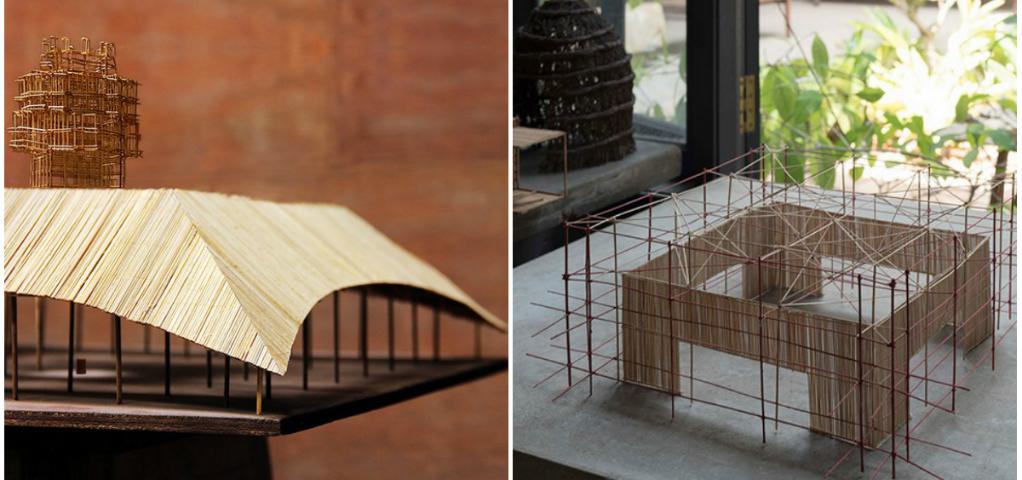 Bamboo Design for Melbourne's 2016 MPavilion by Bijoy Jain