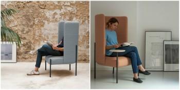 Modern Ara Armchair for Missana by Perezochando