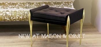 Maison et Objet Paris Fresh Luxury Bathroom Goods by Maison Valentina