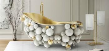 Newton White Bathtub: Bubble Bathing Never Felt So Good