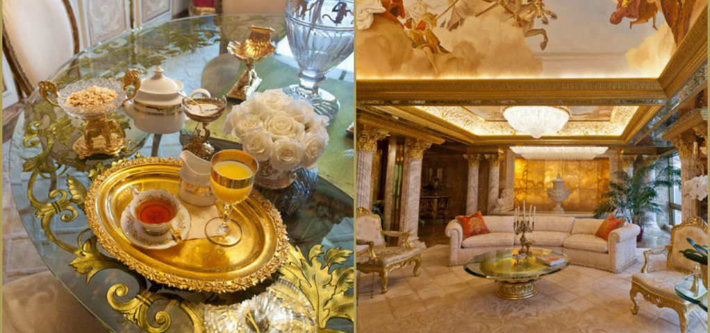 Donald Trump's Manhattan Luxury Apartment Mansion