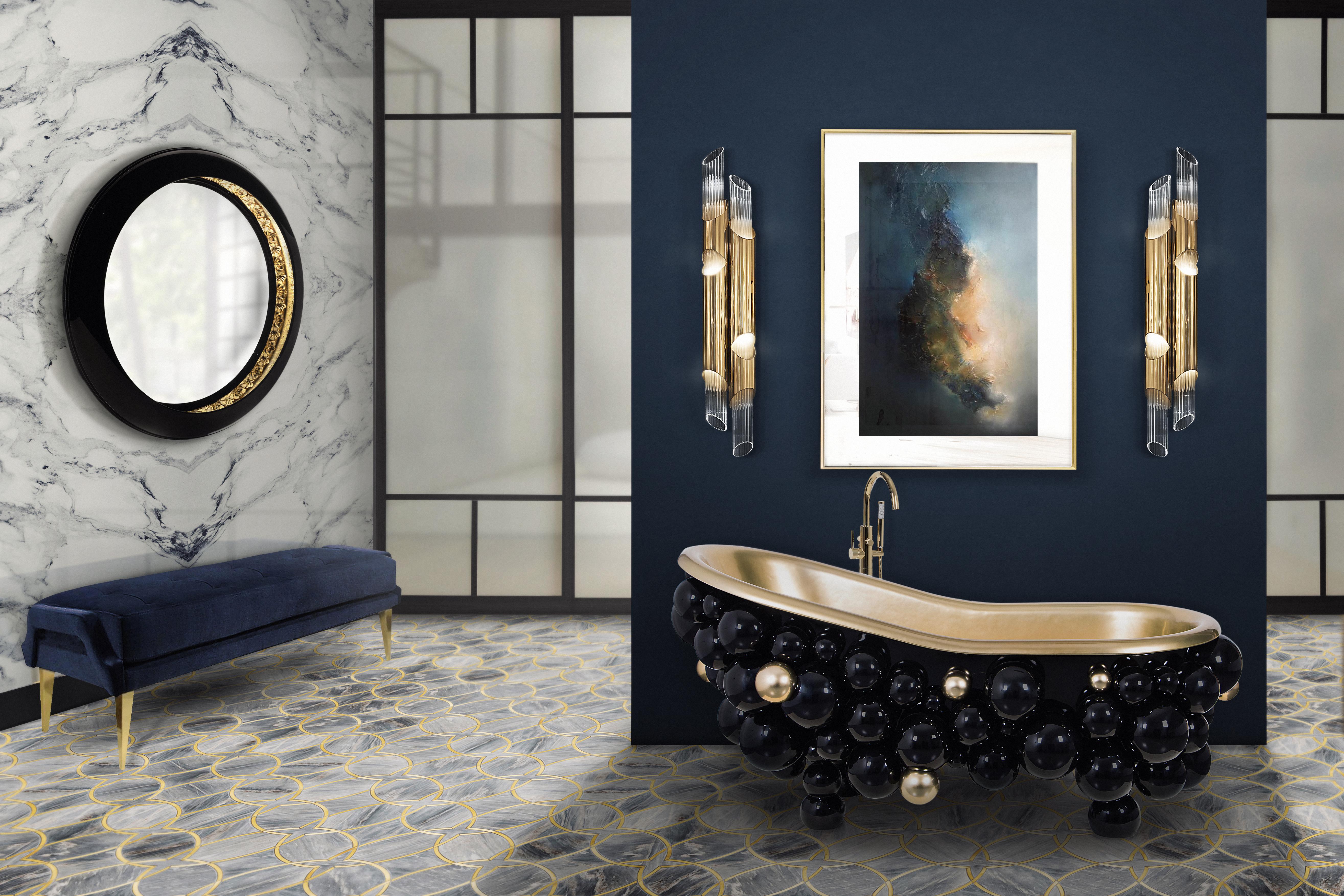 Shake up your bathroom with Maison Valentina´s luxurious bathtubs luxurious bathtubs Shake up your bathroom with Maison Valentina´s luxurious bathtubs 26 newton bathtub ring mirror 1 HR