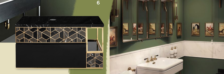 The Soft Color Palette for a New Bathroom Interior Design
