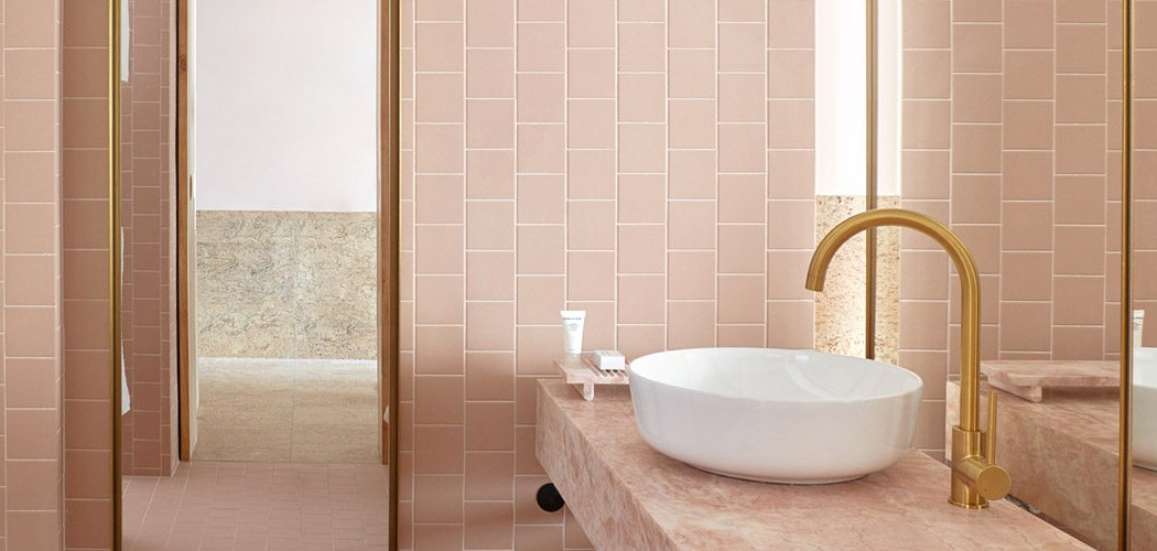 Color of the year 2020 Add a Dash of Pink to Your Bathroom