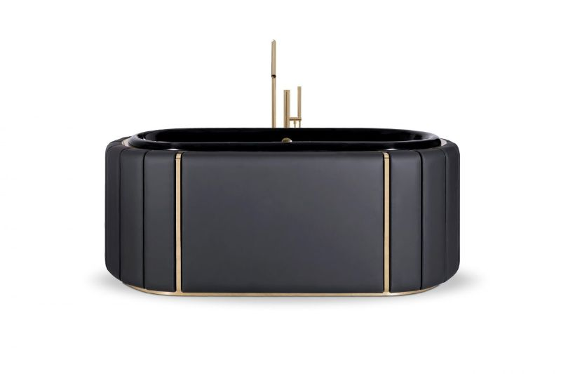 Black and Gold Bathroom Design 5 Pieces to Support this Combo black and gold bathroom design Black and Gold Bathroom Design: 5 Pieces to Support this Combo Black and Gold Bathroom Design 5 Pieces to Support this Combo 2