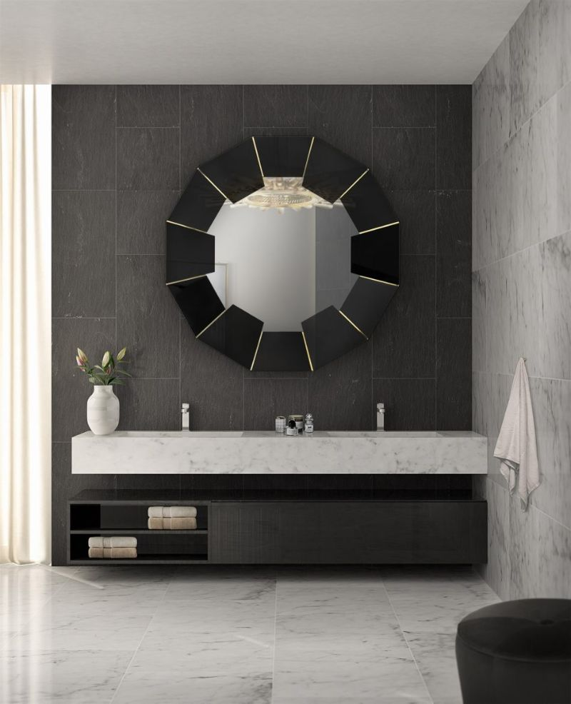 Black and Gold Bathroom Design 5 Pieces to Support this Combo black and gold bathroom design Black and Gold Bathroom Design: 5 Pieces to Support this Combo Black and Gold Bathroom Design 5 Pieces to Support this Combo 9