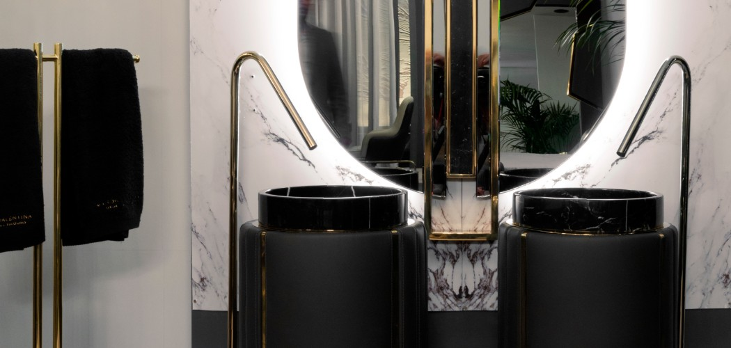 Black and Gold Bathroom Design 5 Pieces to Support this Combo