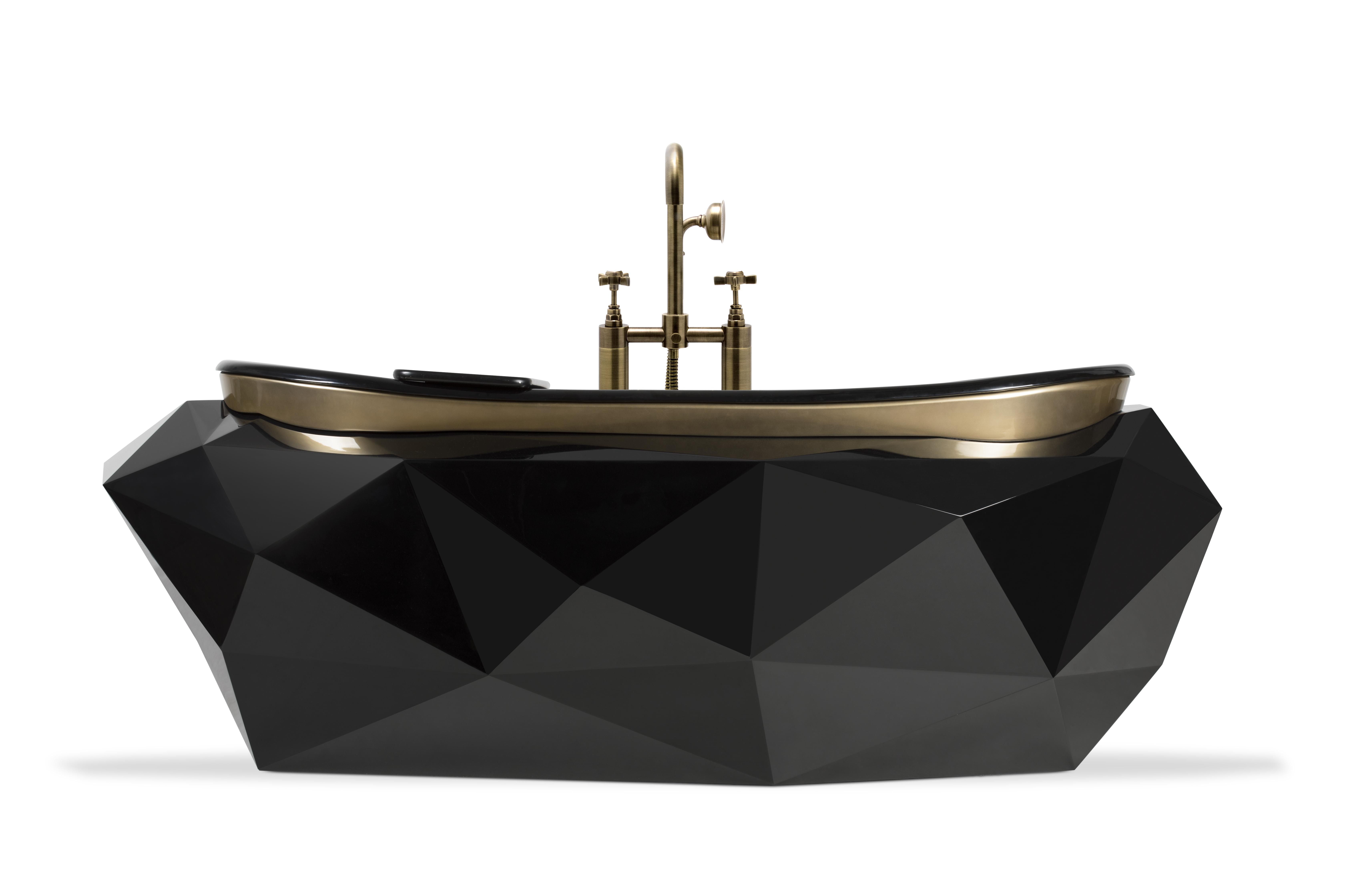 Shake up your bathroom with Maison Valentina´s luxurious bathtubs luxurious bathtubs Shake up your bathroom with Maison Valentina´s luxurious bathtubs diamond bathtub 1