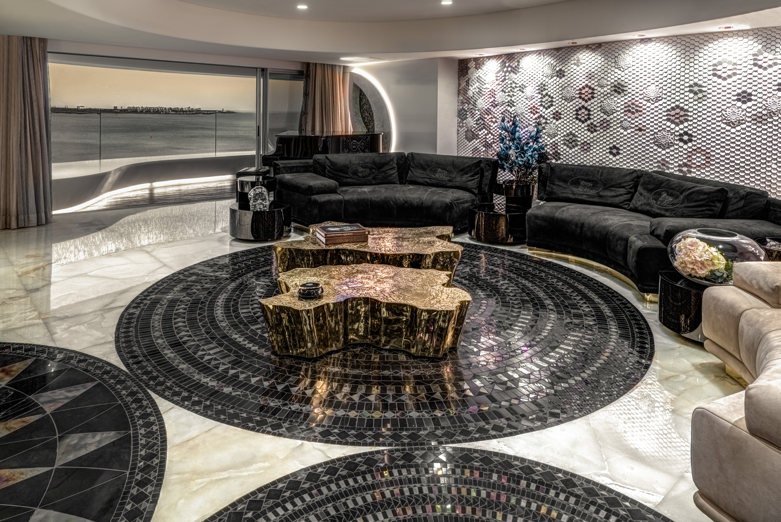 Luxurious Apartment; Luxury; Apartment; Project; Freestanding; Elegant; Luxury; Maison Valentina; Three Hole Mixer Tap; interior design; extraordinary; eclectic luxurious apartment The Ever-Lasting Luxurious Apartment by ZZ Architects sala