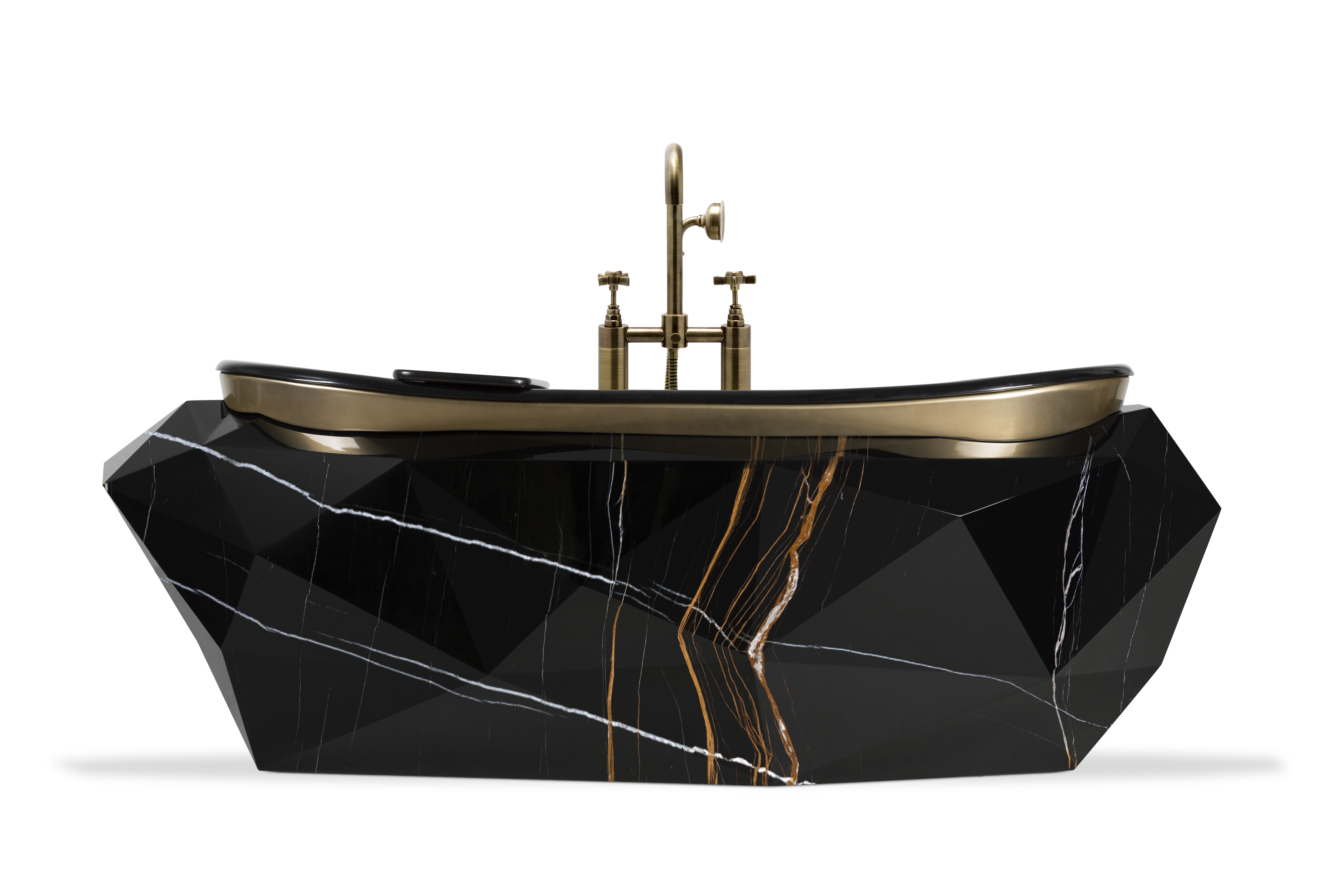 e-book The Stunning Bathroom Project Inside Maison Valentina E-Book diamond faux marble bathtub 1 HR