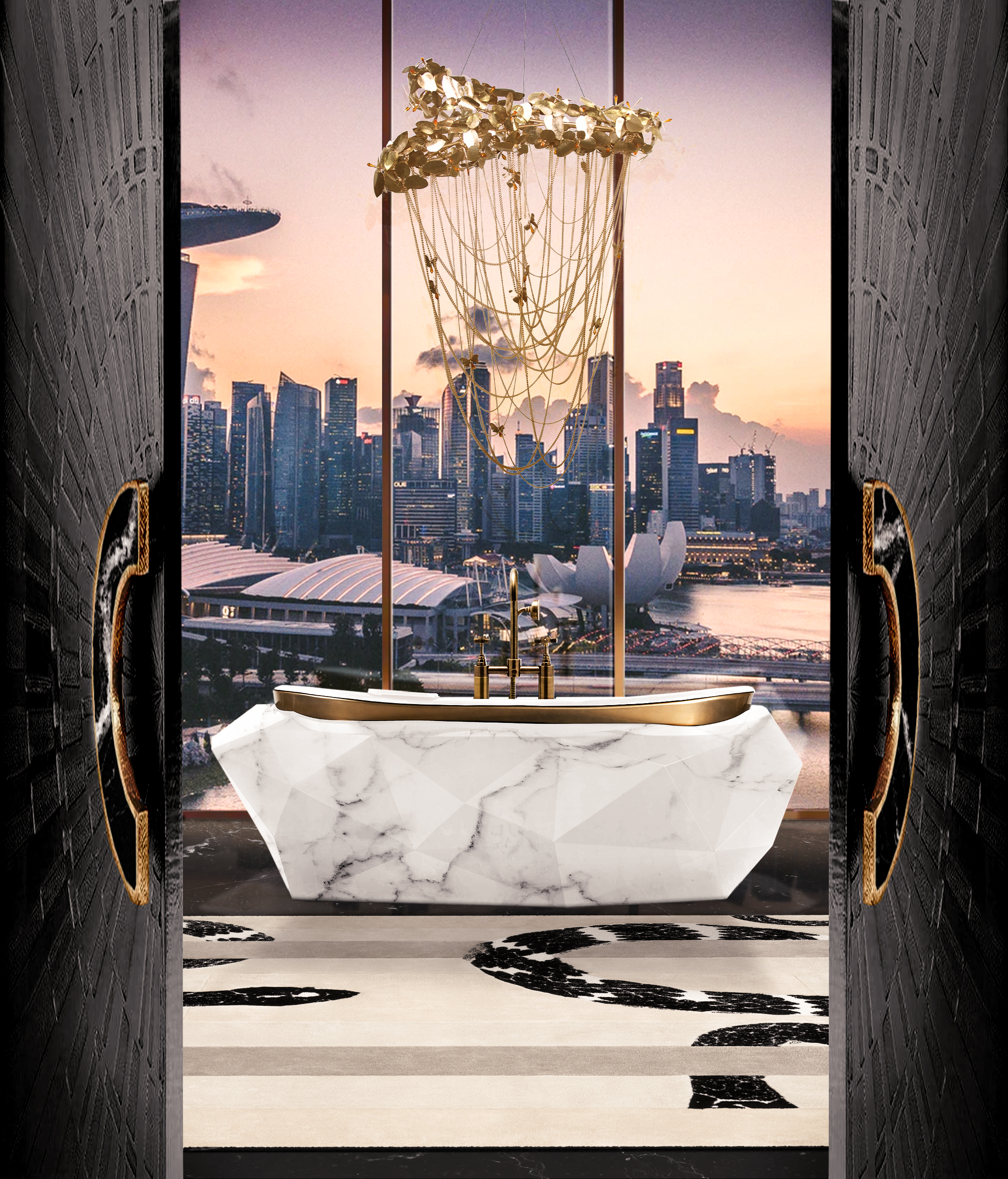 Luxe at home: Maison Valentina presents the latest Diamond Bathtubs Diamond Bathtubs Luxe at home: Maison Valentina presents the latest Diamond Bathtubs diamond faux marble bathtub 23 HR 1