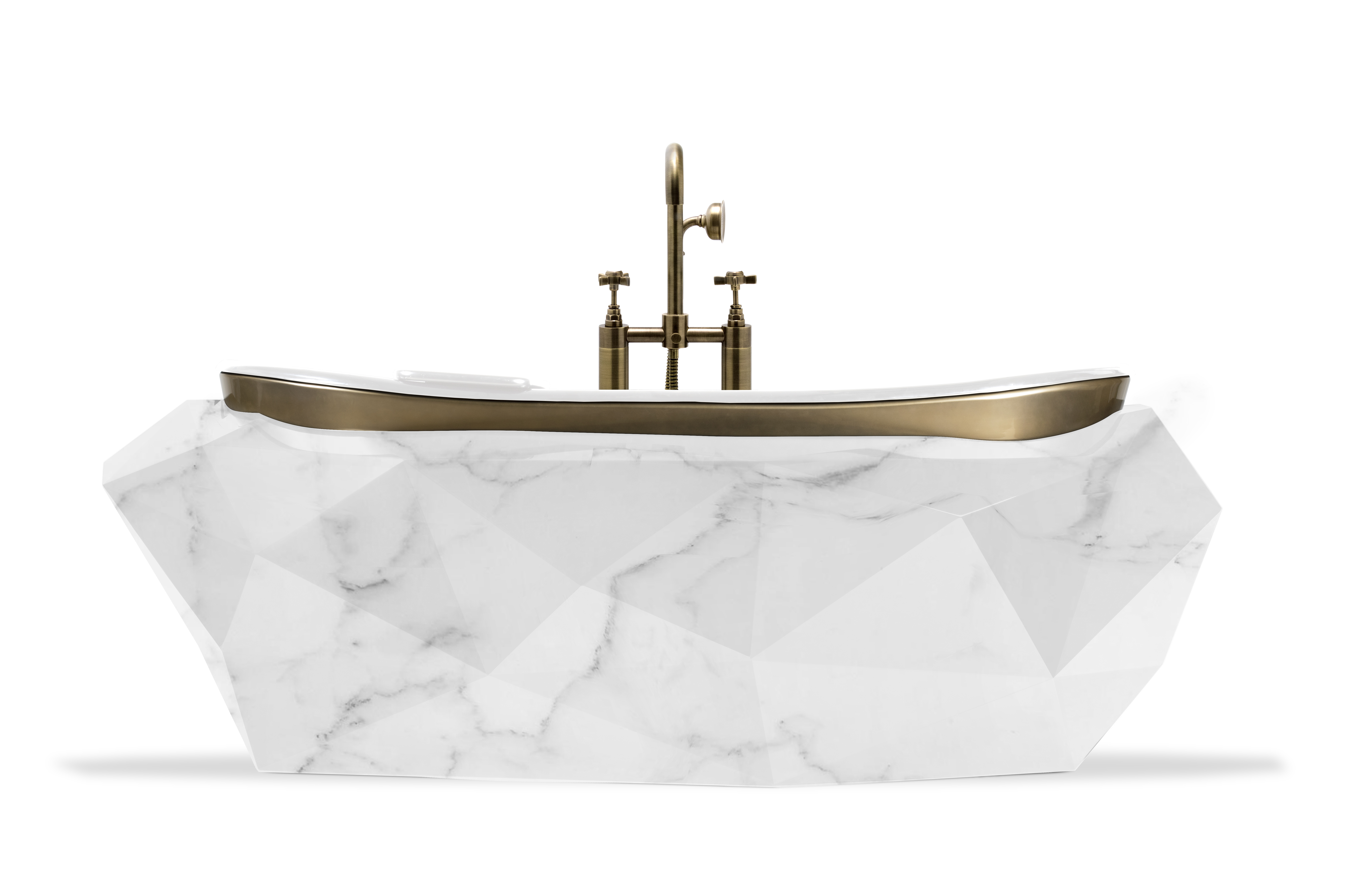 Luxe at home: Maison Valentina presents the latest Diamond Bathtubs Diamond Bathtubs Luxe at home: Maison Valentina presents the latest Diamond Bathtubs diamond faux marble bathtub 6 HR