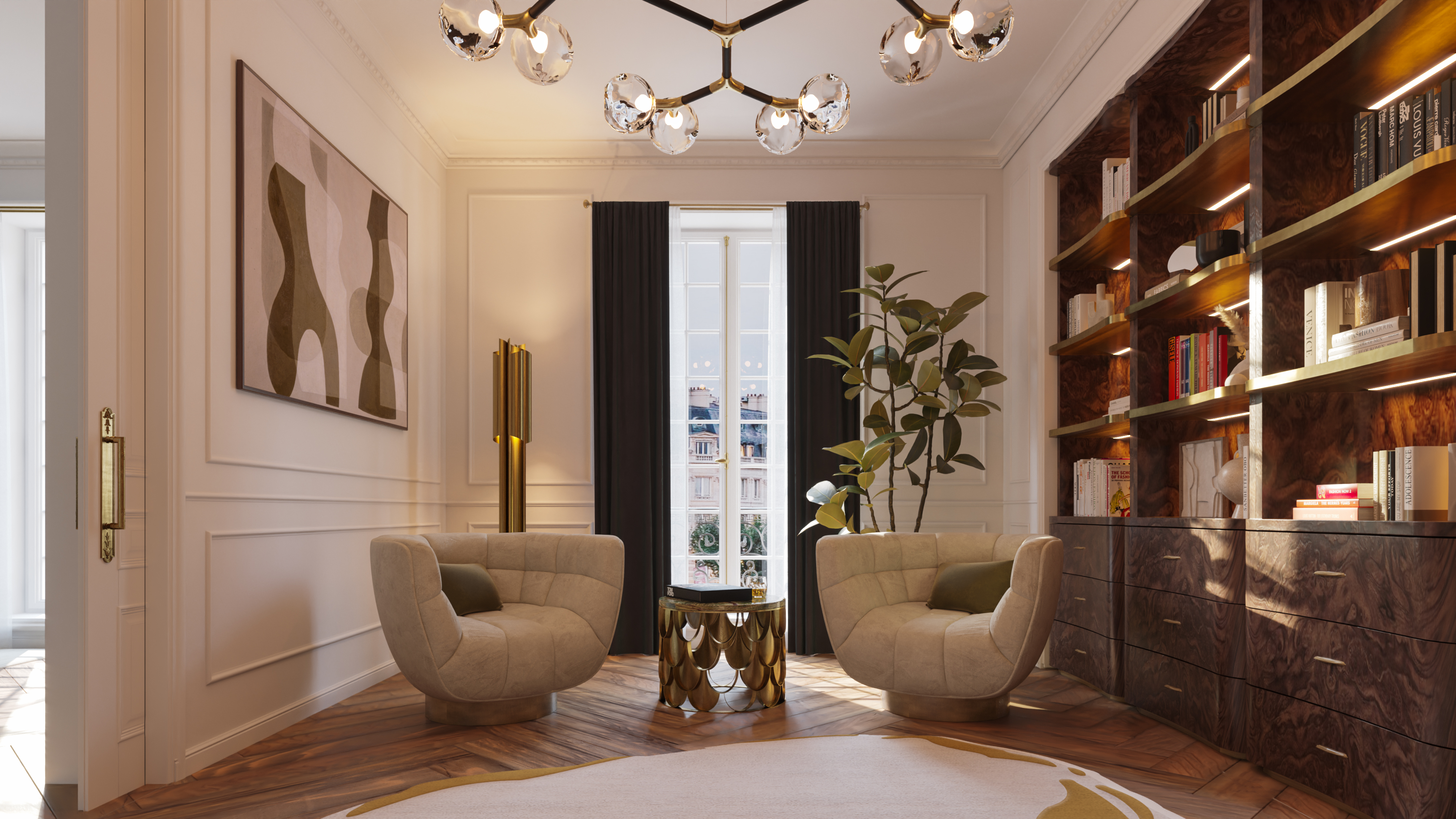 The Eternel Parisian Apartment: A Unique and Inspiring Project  Parisian Apartment The Eternel Parisian Apartment: A Unique and Inspiring Project Home Society Paris House Office