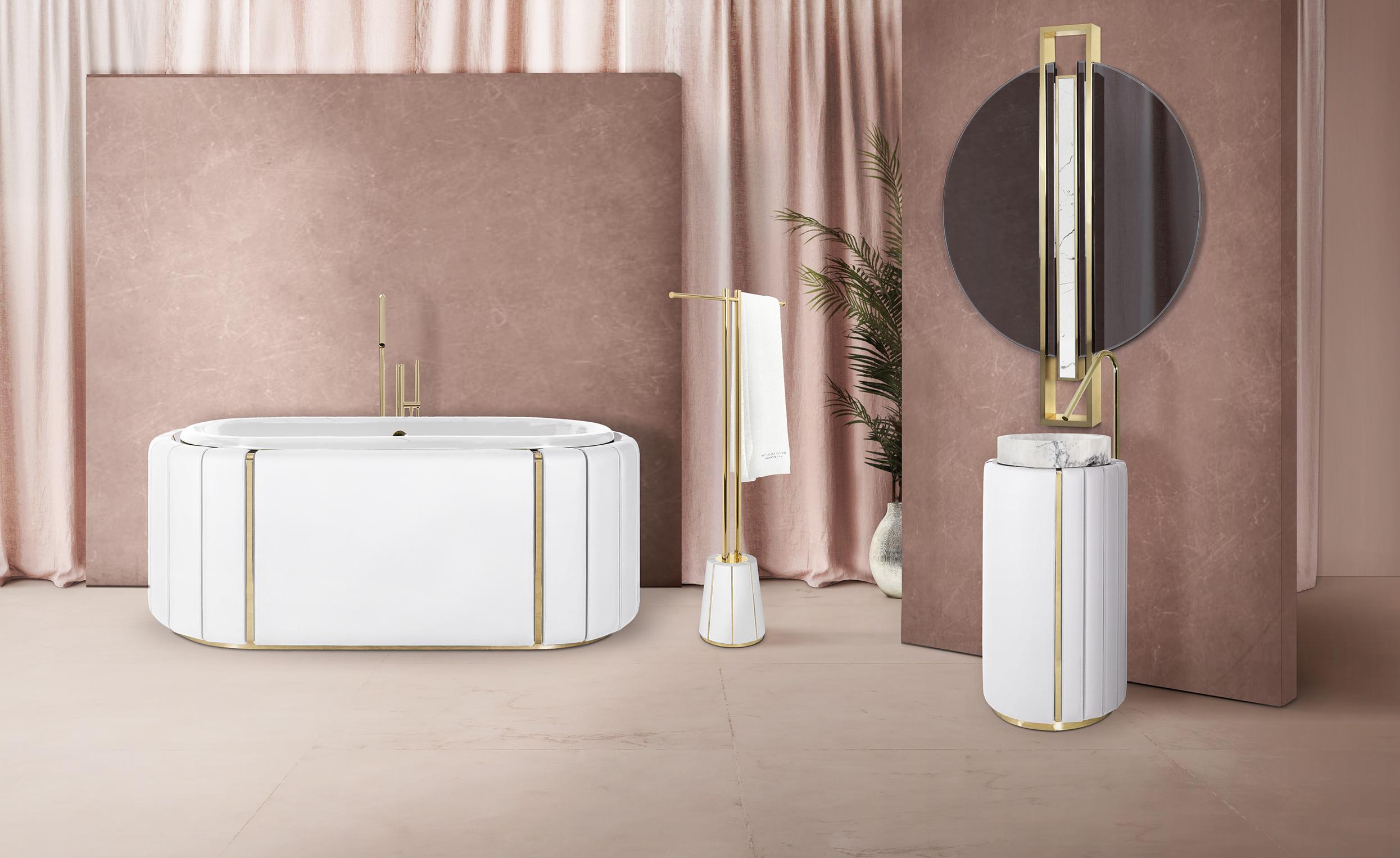 bathroom Fancy Bathroom Designs charming bathroom with white darian towel rack and white darian freestanding