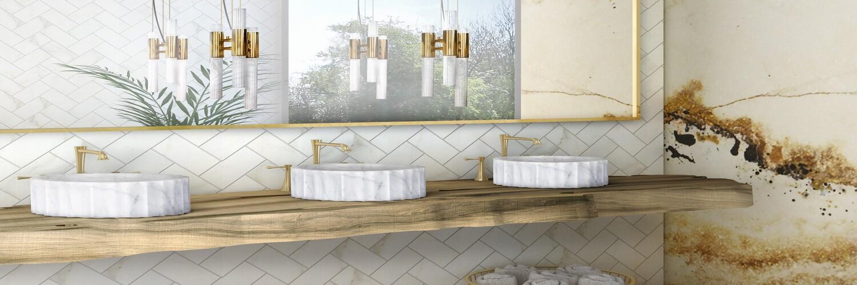 Scandinavian Style Meets Luxury Bathrooms